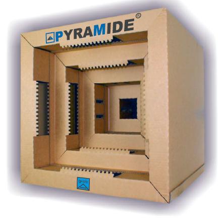 Oversprayabscheidung Kartonfilter Pyramide