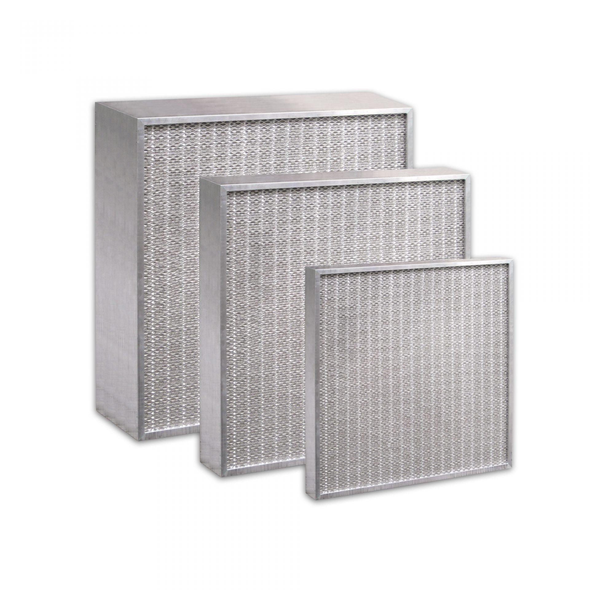 Hochtemperaturfilter zur Luftfiltration