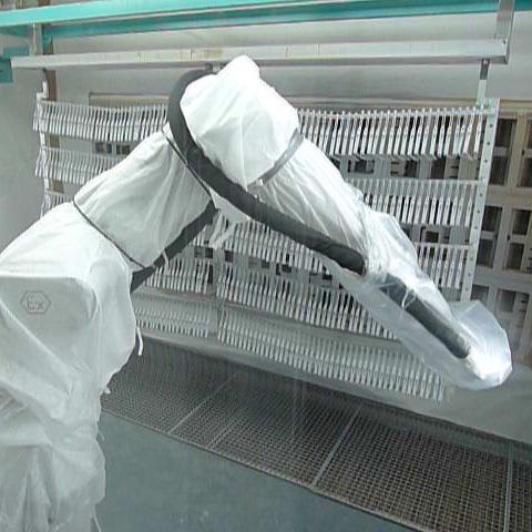 Roboter Roboter Prozessgesteuerte Systeme Vollautomatische Beschichtung Lackersorgungsanlagen