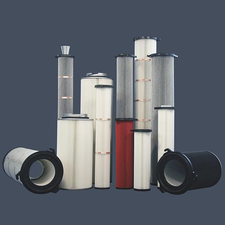 Patronenfilter abreinigbare Filtersysteme