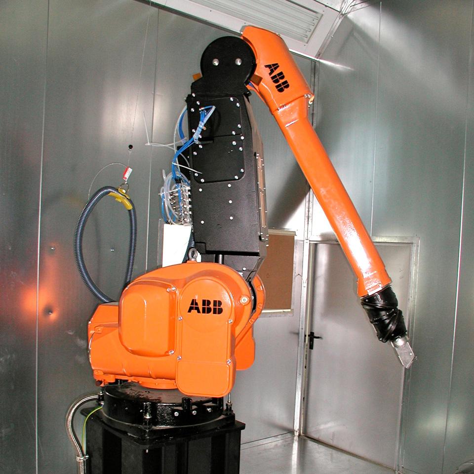 Roboter Prozessgesteuerte Systeme Vollautomatische Beschichtung Lackersorgungsanlagen